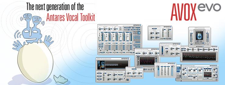 Auto-Tuneでボーカルプロダクションの世界に革命を起こしたAntares社が開発したAntares Vocal Toolkit